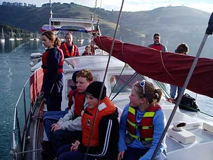 Exploring is top Priority on Board Elwing