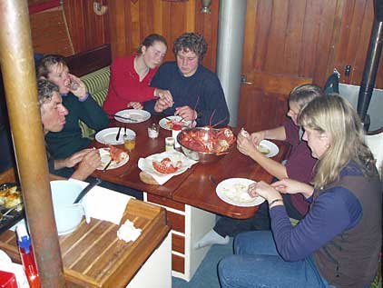 Sharing a Meal aboard Elwing