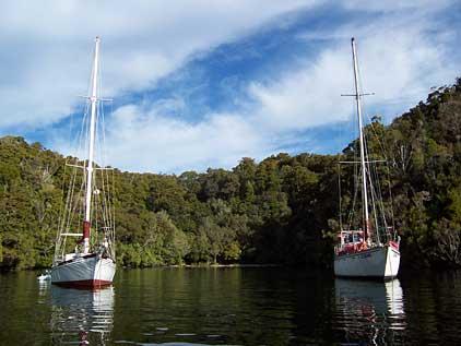 Port Pegasus - anchorage
